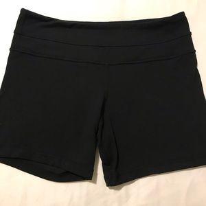 EUC Lululemon compression shorts